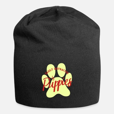 Male Puppy Dog Puppy Easily distracted from puppy puppies dogs gift - Beanie