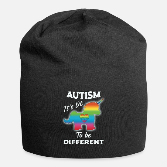 Autism Caps & Hats - Autism Awareness Unicorn Autism - Beanie black