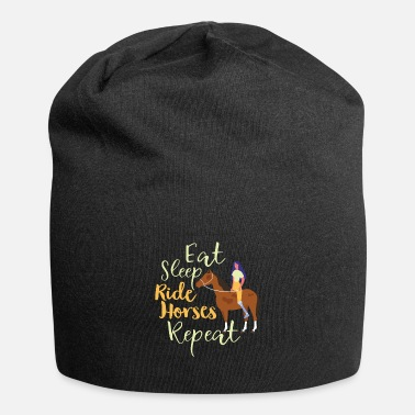 Fantino Eat Sleep Ride Horses Repeat Funny Gift for Girls - Berretto