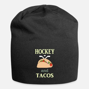 Coach Hockey Gift to Player Team Mom Coach Funny Tacos - Beanie