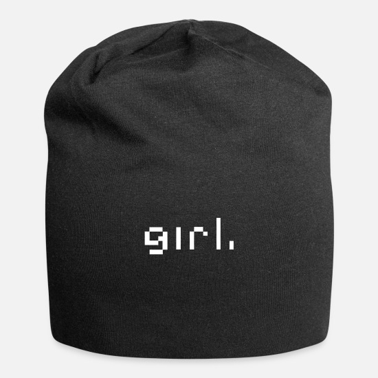 Wife Caps & Hats - girl - Beanie black