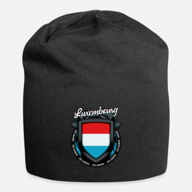 Colour Luxembourgish coat of arms Luxembourg shield gift - Beanie