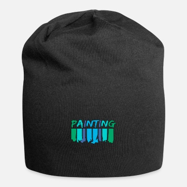 Painting Painting - painting - Beanie