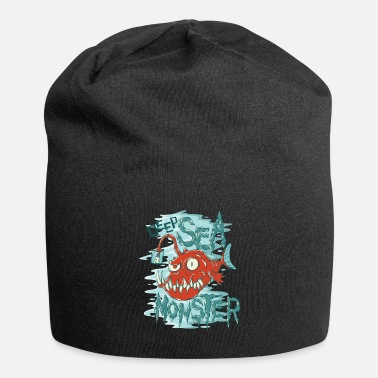 Octopus Deep sea monster frogfish - Beanie