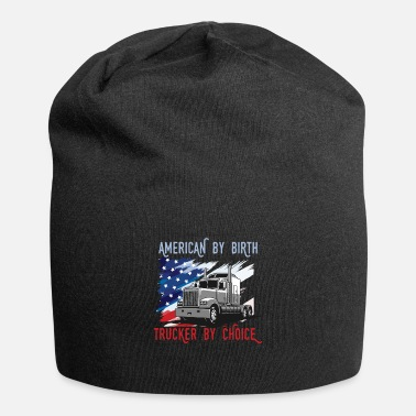 Courier American By Birth Truck Driver Cool Driver Gift - Beanie