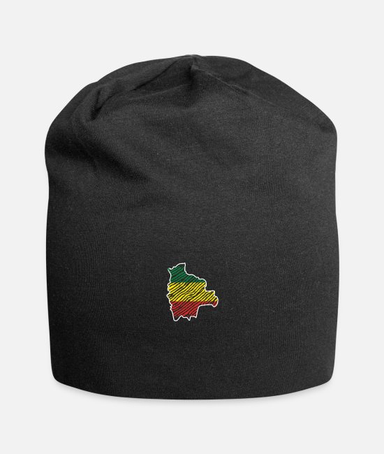 South America Caps & Hats - Bolivia South America Tshirt - Beanie black