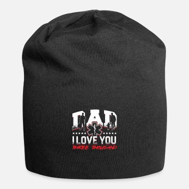 Dad EMT EMS Father Fathers day Paramedic Caduceus - Beanie