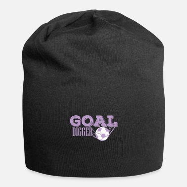 Soccer Net Soccer ball in the net Goal Digger - Beanie