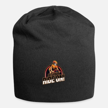 Fahrradkurier Get your ride on - downhill mountain - Beanie