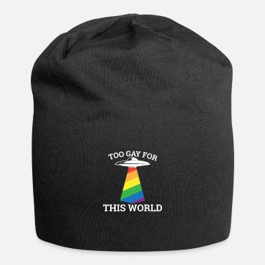 Bachelor Too gay for this world - gay lesbian - Beanie