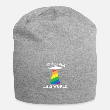 Ehe Too gay for this world - Schwul Lesbe - Beanie
