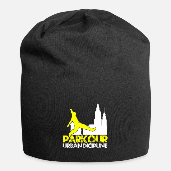 Sports Cappelli & Berretti - Parkour Parcour Freerunning Outdoor Sport Gift - Berretto nero