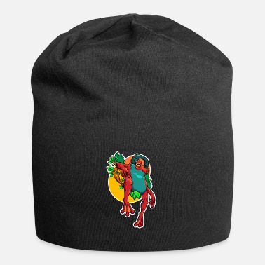 Lurch Frog abstract amphibian - Beanie
