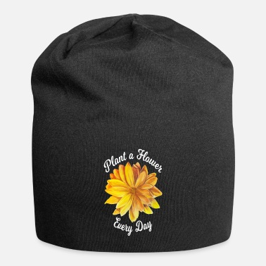 Production Plant Plant a Flower Every Day product Botanical Art - Beanie