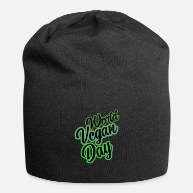Slogan World Vegan Day slogan slogan slogan - Beanie