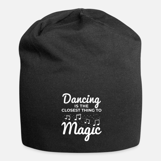Dancing Caps & Hats - Dancing Dance Dance Teacher Dance Dancing - Beanie black