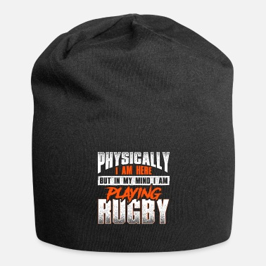 Crazy rugby saying - rugby - Beanie