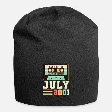 Motto Of Life 20th Birthday Gift July 2001 20 Years - Beanie