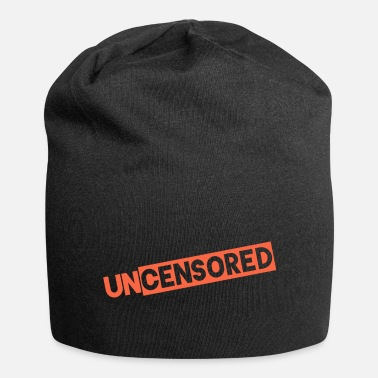 Censor uncensored UNCENSORED mask - Beanie