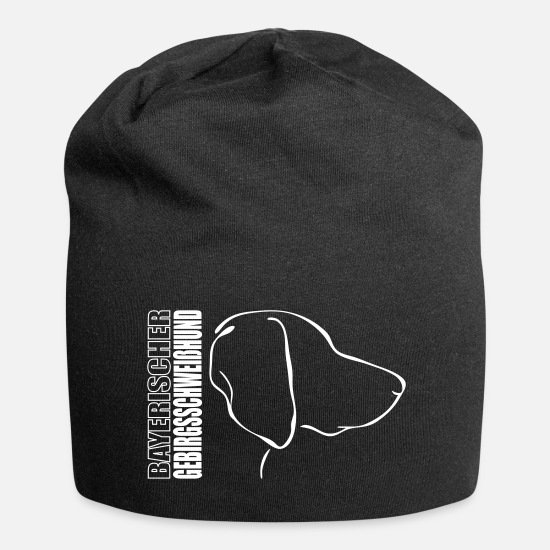 Dog Owner Caps & Hats - BAYERISCHER Mountain Hound PROFILE - Beanie black