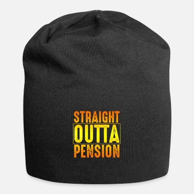 Pension Pensioner Pension Gift - Beanie