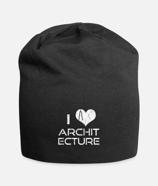 Occupation Caps & Hats - Architecture is not for the weak - Beanie black