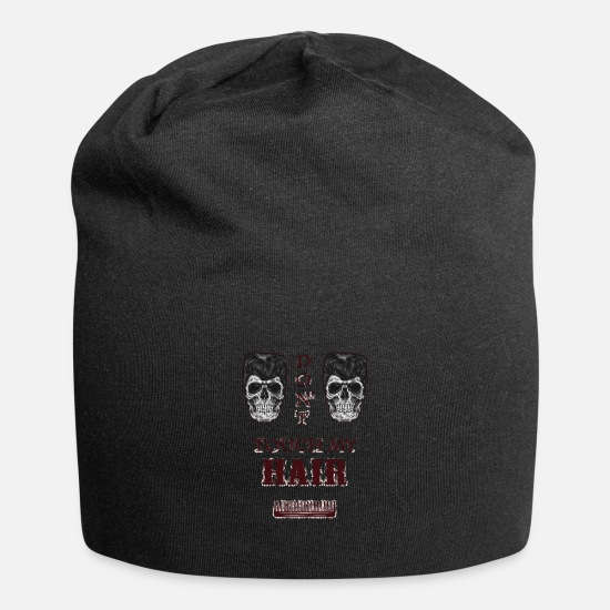 Hairy Caps & Hats - HAIR - Beanie black