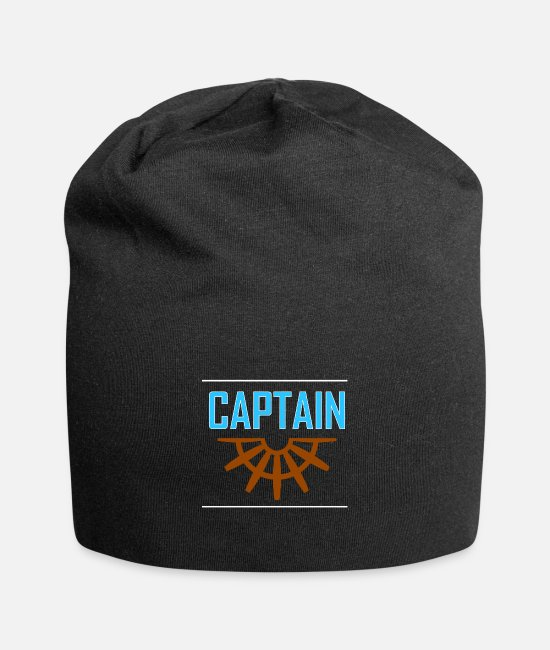 Sail Boat Caps & Hats - Captain - Beanie black