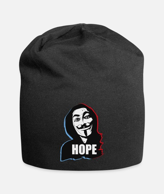 Hack Caps & Hats - HopeAnonymous Hope - Beanie black