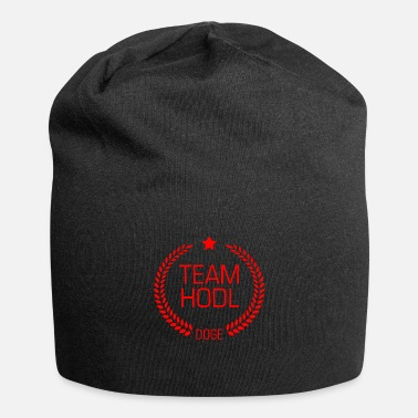 Cash Team Hodl Dogecoin DOGE red - Beanie