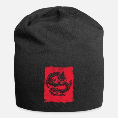 Stencil Dragon china - Beanie