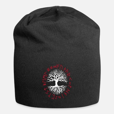 Hammer Yggdrasil World Tree World Ash Nordic - Beanie