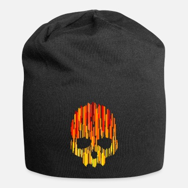 Buccaneer Skull (Colourful Stripes) 01 - Beanie