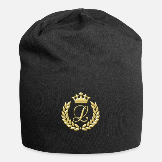 Laurel Caps & Hats - laurel wreath - Beanie black