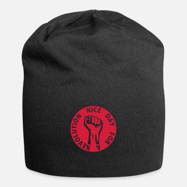 Pracownik 1 color - nice day for a revolution - against - Beanie