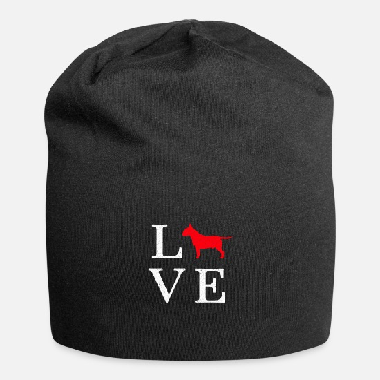 Gift Idea Caps & Hats - Bull Terrier Bull Terrier Dog Gift - Beanie black