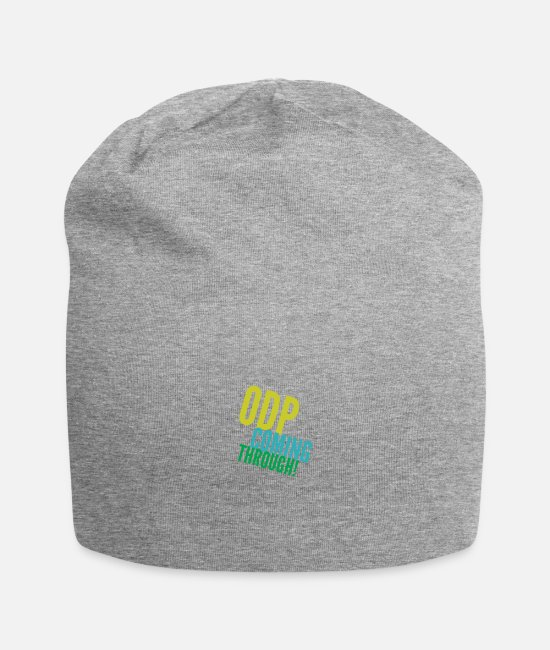 Operating Department Practice Caps & Hats - ODP coming through 3 - Beanie heather grey