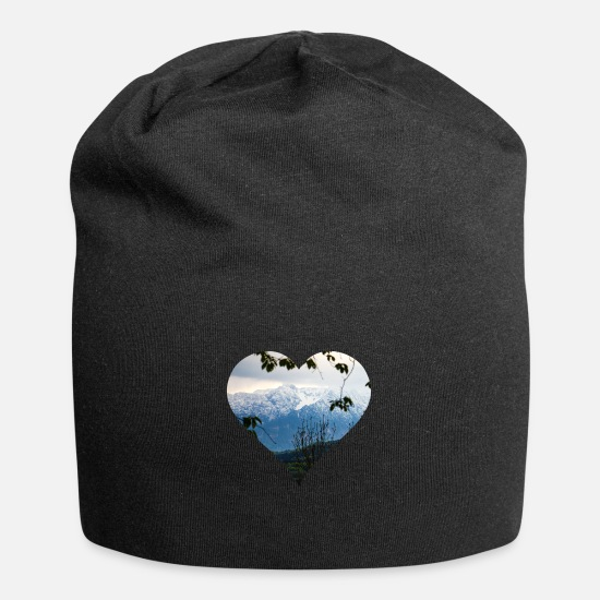 Mountains Caps & Hats - Alps - Beanie black