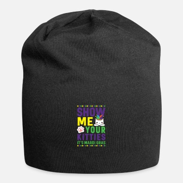 Mardi Gras Adult Humor New Orleans Apparel Party - Beanie