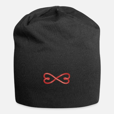 Marriage Infinity Shape Celtic symbols Valentine's Day heart infinity - Beanie