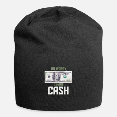 Cash No worry, I have Cash Money Franklin 100 dollars - Beanie