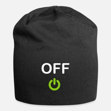 Off OFF-painike - Beanie-pipo