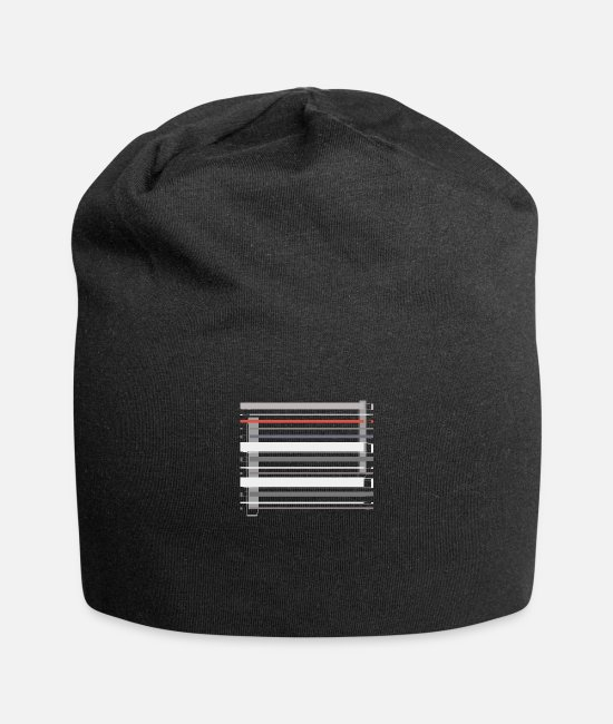 Stylish Caps & Hats - Stylish Abstract One - Beanie black