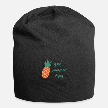 Good summer vibes pineapple summer pineapple design - Beanie