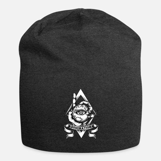 Dominant Caps & Hats - Domination - Beanie charcoal grey