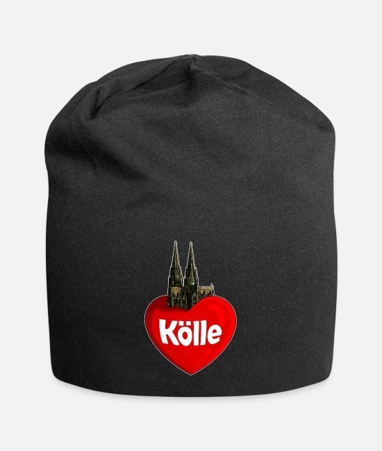 Love Caps & Hats - Heart cathedral - Beanie black