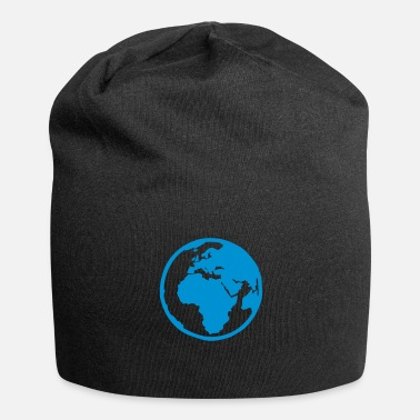 Planet planet earth blue2 - Beanie