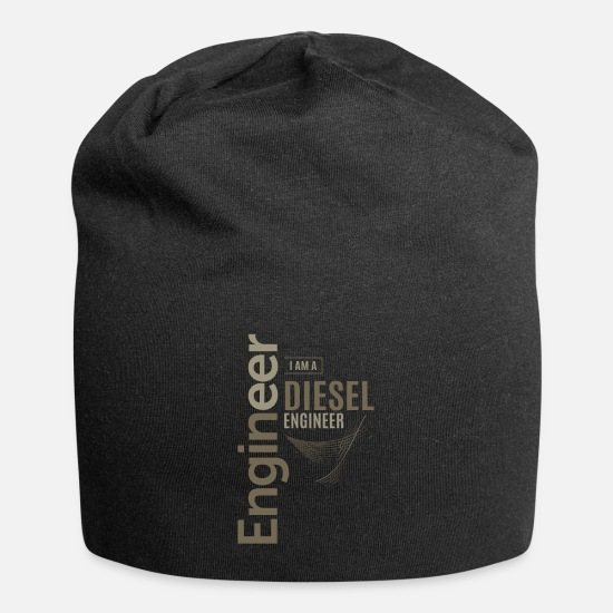 Love Caps & Hats - Diesel Engineer - Beanie black