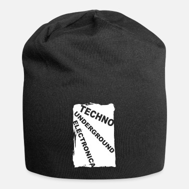 Electronica ELECTRONICA Underground Club Festival Style Bass - Beanie