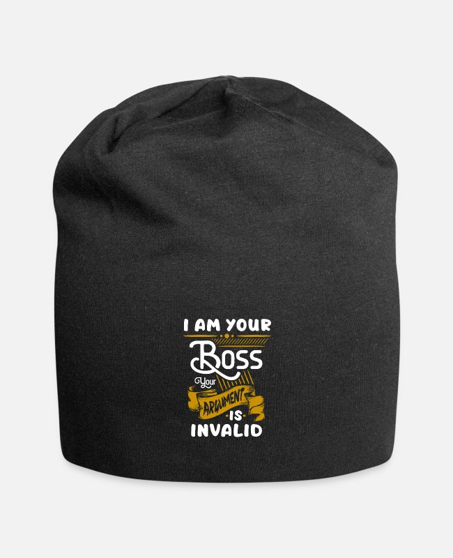 Occupation Caps & Hats - boss - Beanie black
